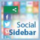 Social Sidebar - CSS Social Bar with Icons