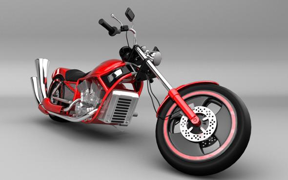 3DOcean Motorcycle Harley Style 5613224
