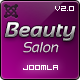 Beauty Salon Responsive Joomla Template - ThemeForest Item for Sale