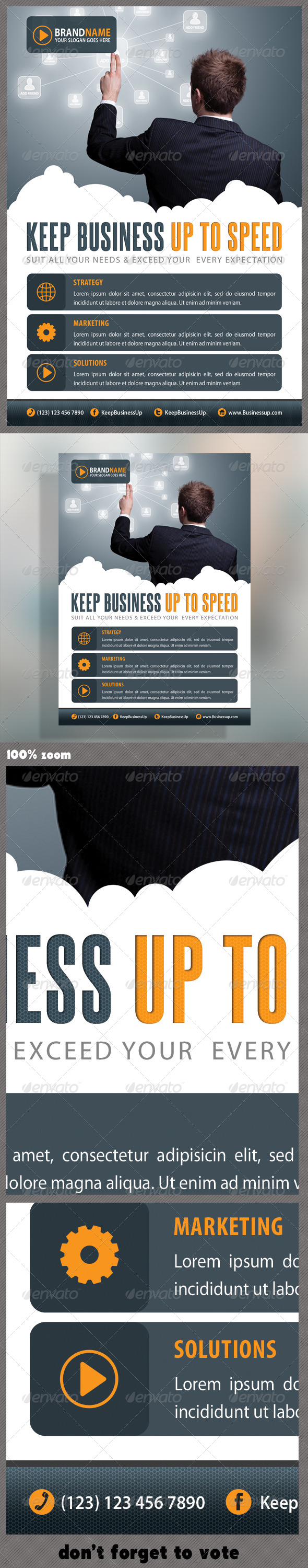 GraphicRiver Corporate Product Flyer 22 5614348
