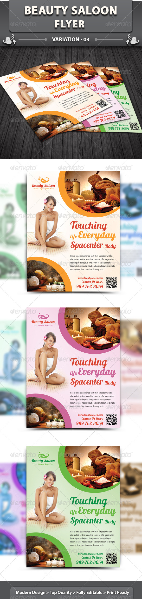 GraphicRiver Beauty Saloon Flyer 5614566