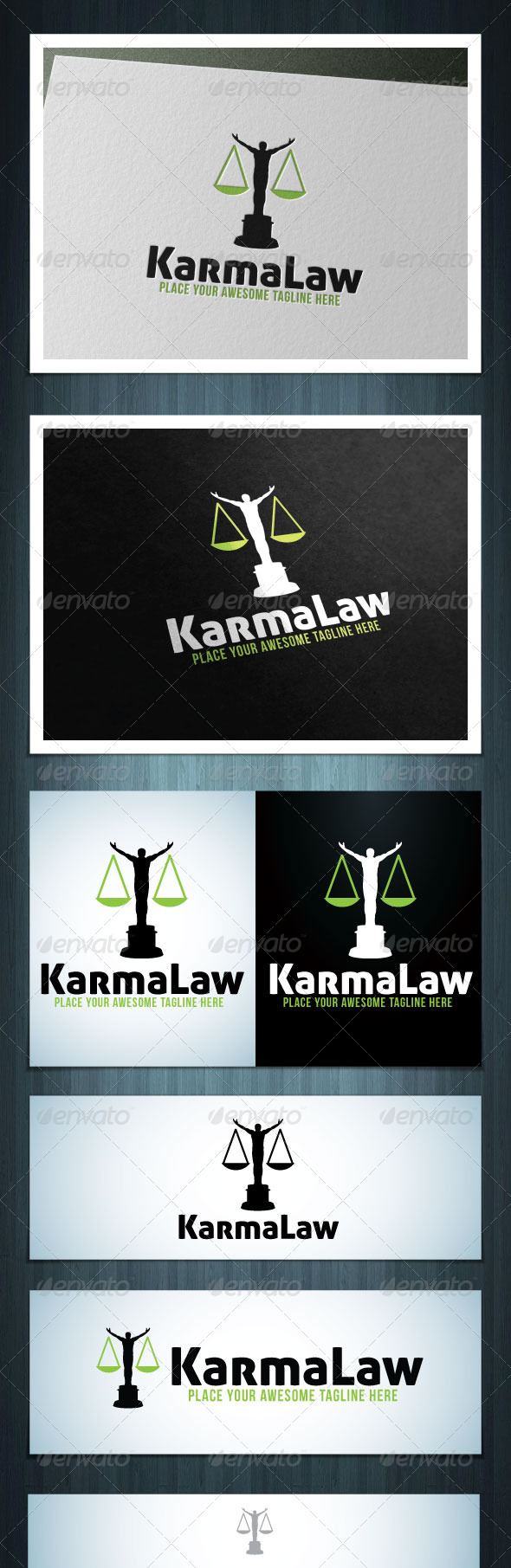 GraphicRiver KarmaLaw 5614858
