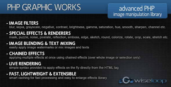 PHP Graphic Works - CodeCanyon Item for Sale