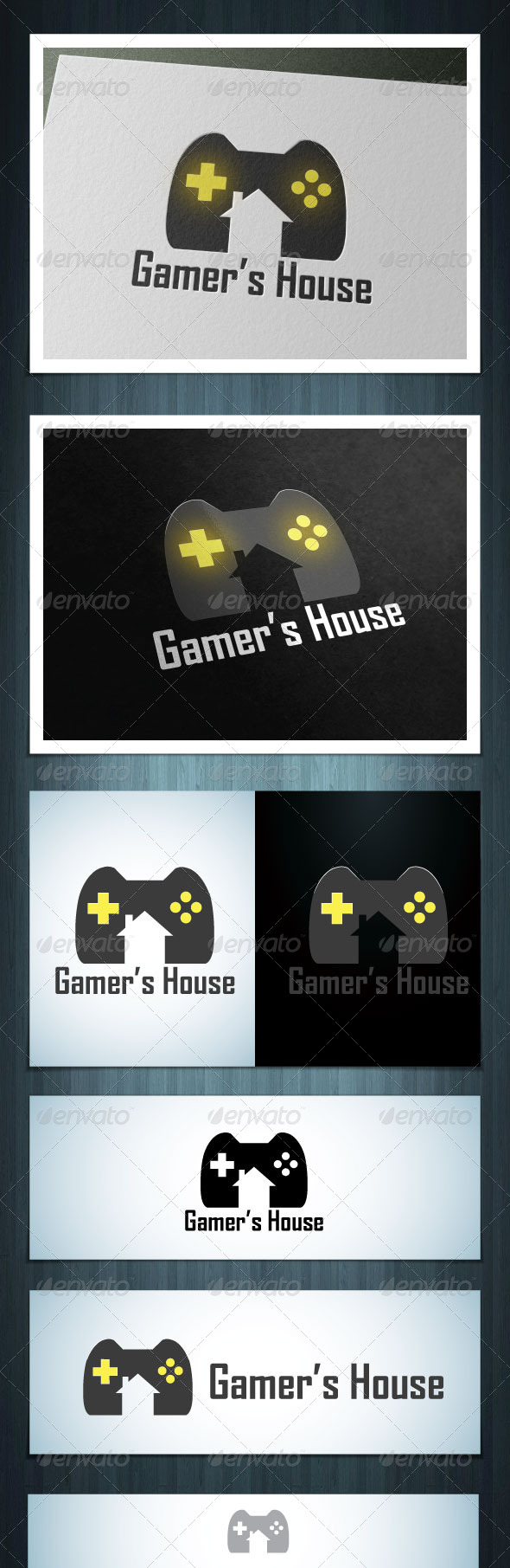 GraphicRiver Gamer House 5615143