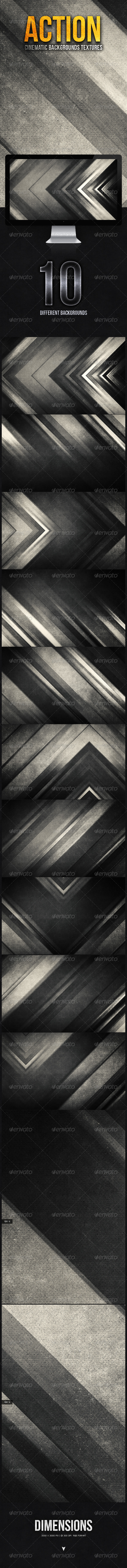 GraphicRiver Action Cinematic Backgrounds Texture II 5597538