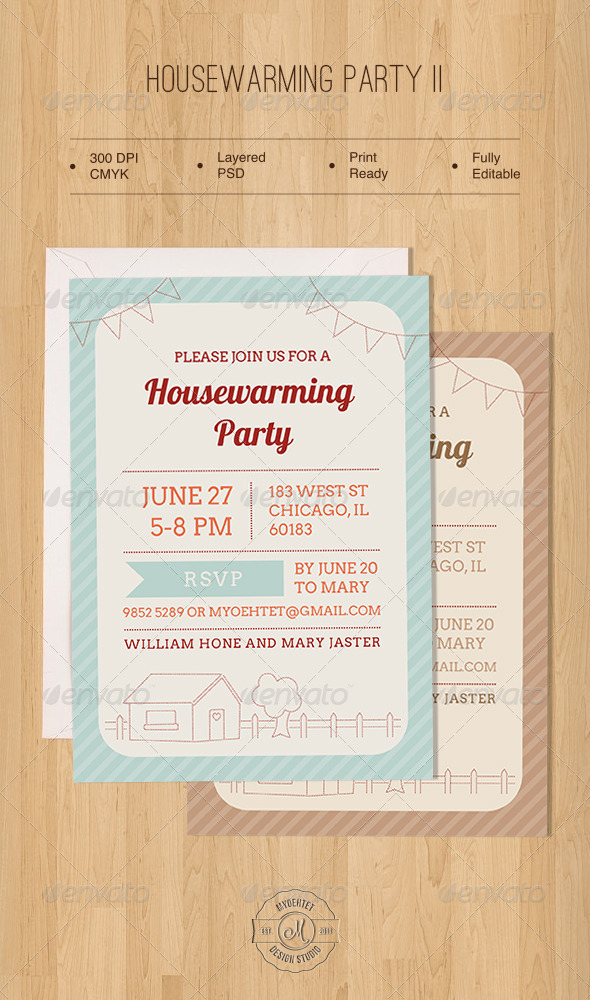 housewarming party two graphicriver. Black Bedroom Furniture Sets. Home Design Ideas