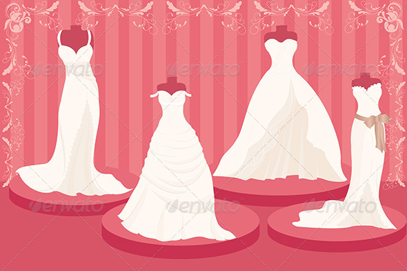 GraphicRiver Wedding Dresses 5615940