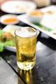 Draft beer beverages in restaurants