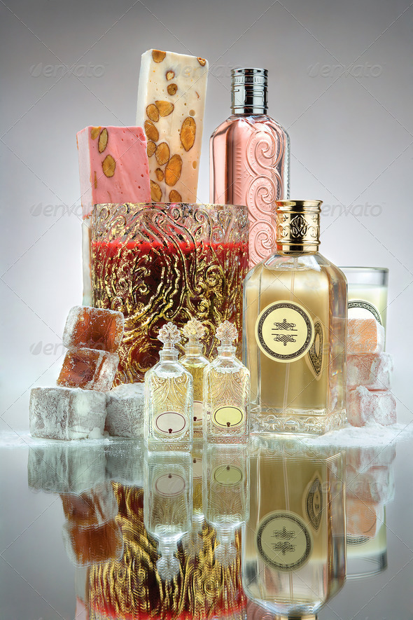 Perfume Bottles - Stock Photo - Images