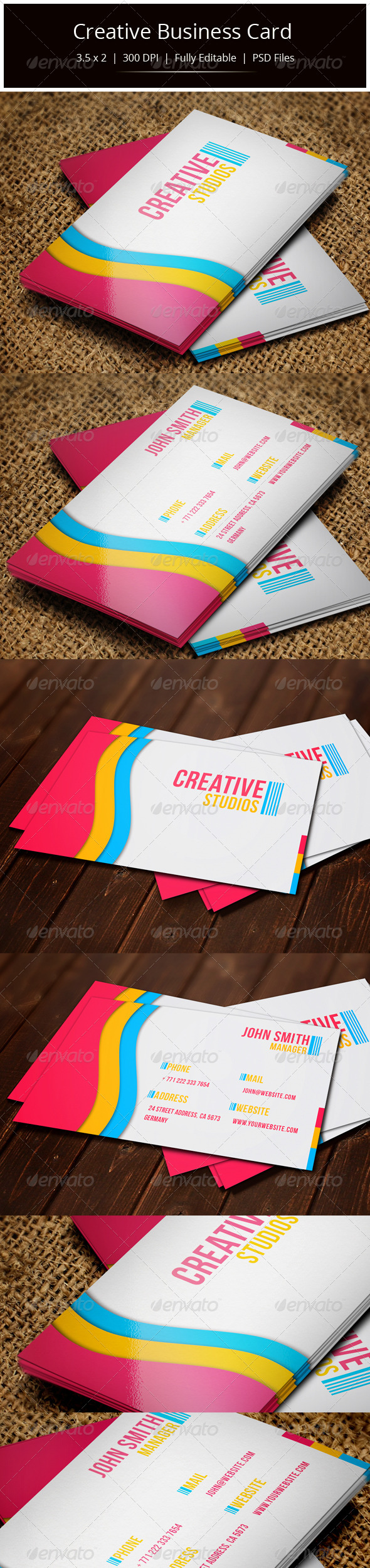 GraphicRiver Creative Business Card 5616408