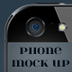 Flat Phone 3D Mock Up - GraphicRiver Item for Sale