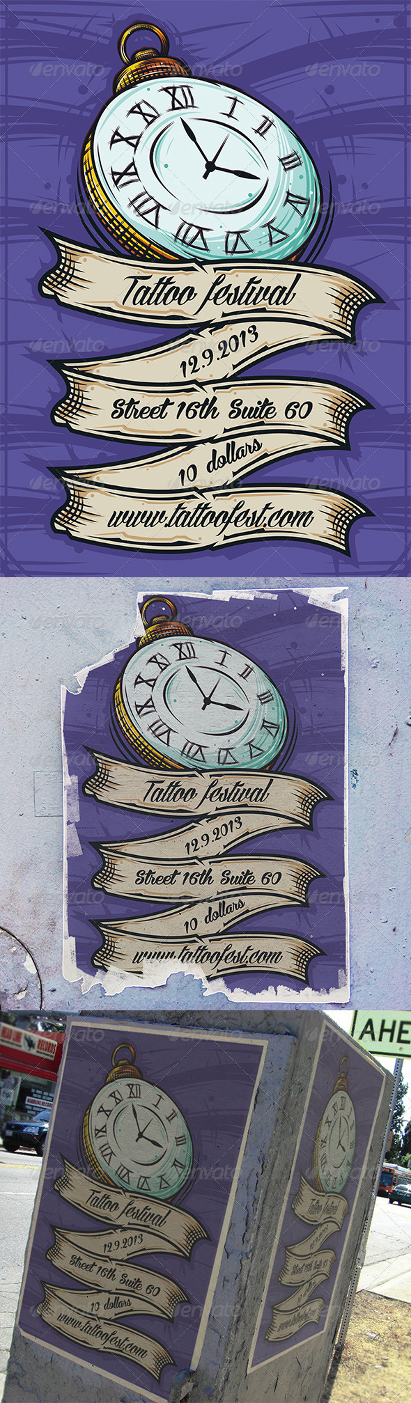 GraphicRiver Tattoo Convention Flyer 5616639