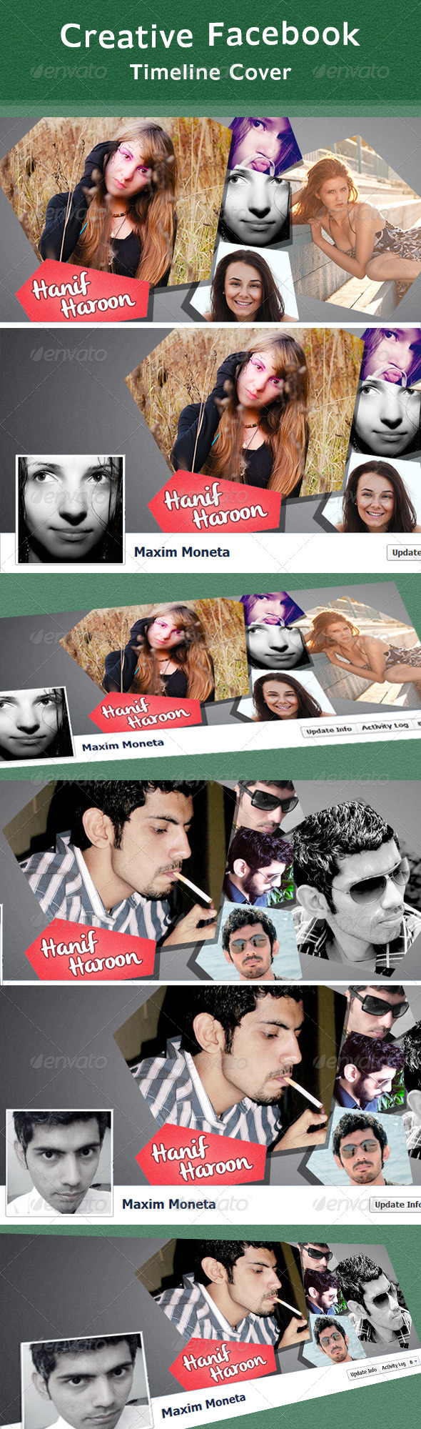 Creative Fb Timeline Cover