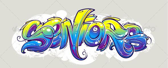 GraphicRiver Graffiti Lettering 5617191