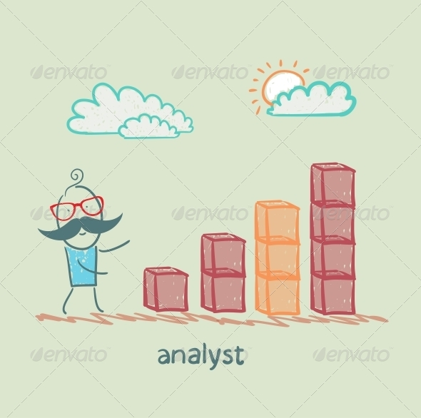 GraphicRiver Analyst Close to the Schedule 5617242
