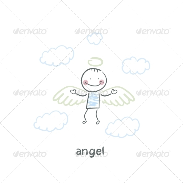 GraphicRiver Angel 5617249
