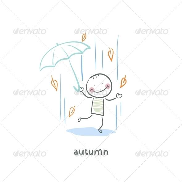 GraphicRiver Autumn Walk 5617356