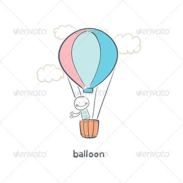 GraphicRiver Balloon 5617510
