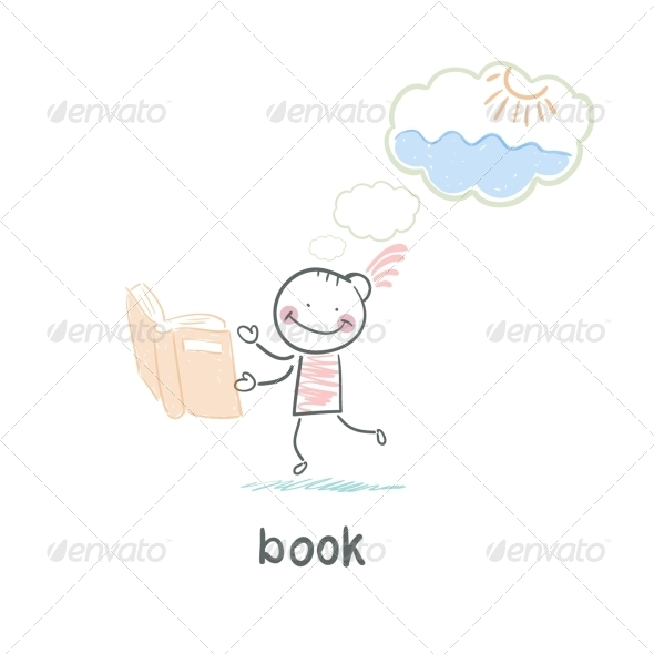 GraphicRiver Man and Book 5617609