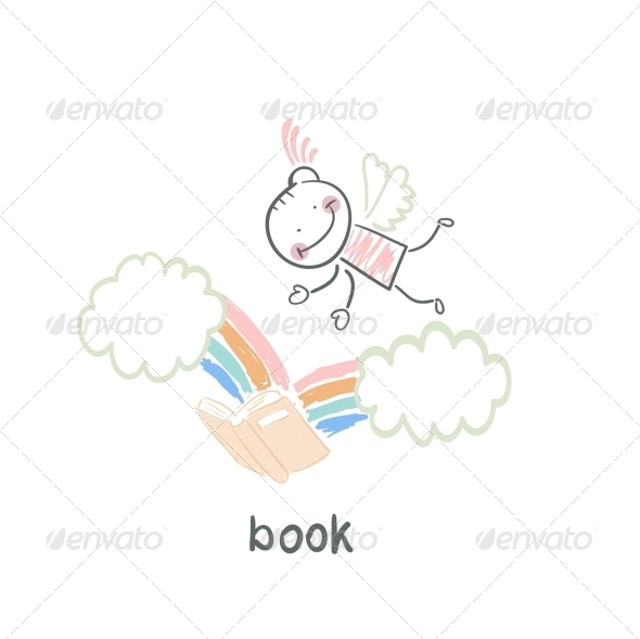 GraphicRiver Man and Book 5617613
