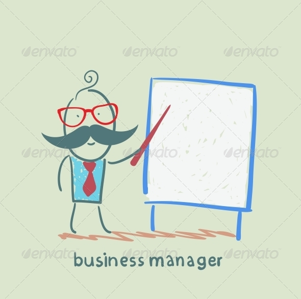 GraphicRiver Business Manager at the Poster Shows 5617985