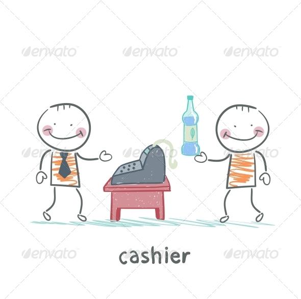 GraphicRiver Cashier Services Client 5618040