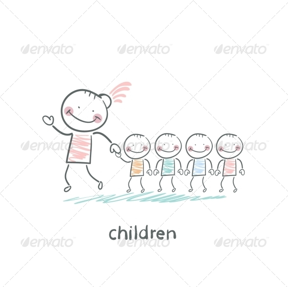 GraphicRiver Children and Adults 5618176
