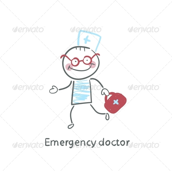 GraphicRiver Emergency Doctor Runs 5618639