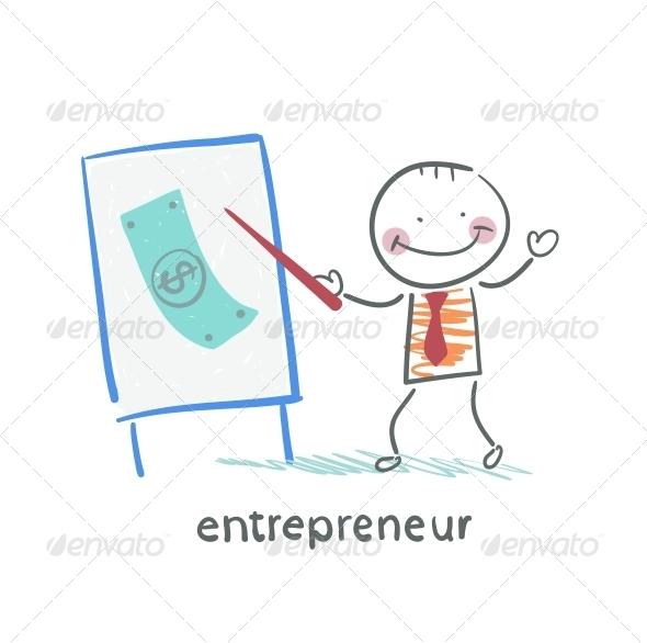 GraphicRiver Entrepreneur Tells a Presentation 5618712