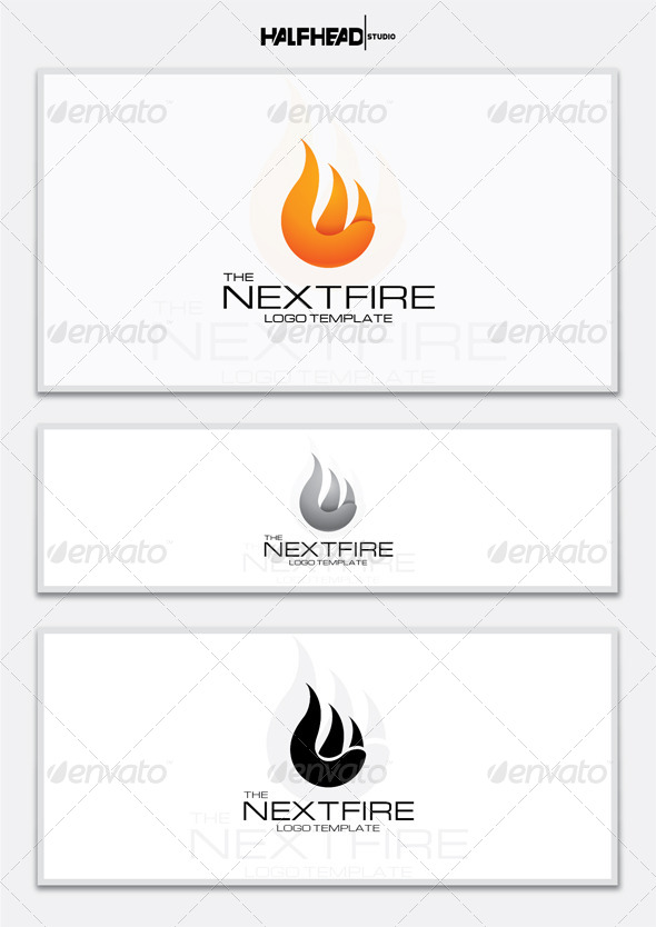 GraphicRiver The Next Fire Logo Template 5618745