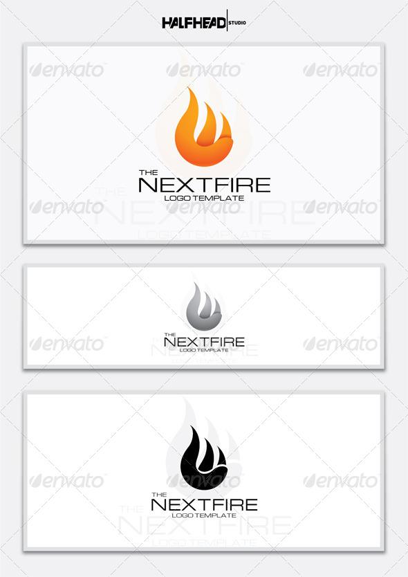 The Next Fire Logo Template
