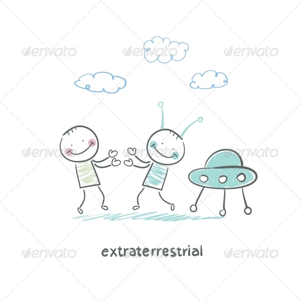 GraphicRiver Extraterrestrial 5618756