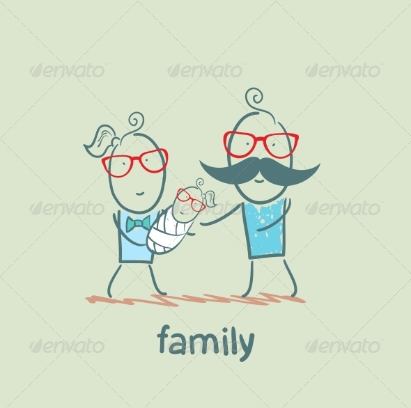 GraphicRiver Family 5618768