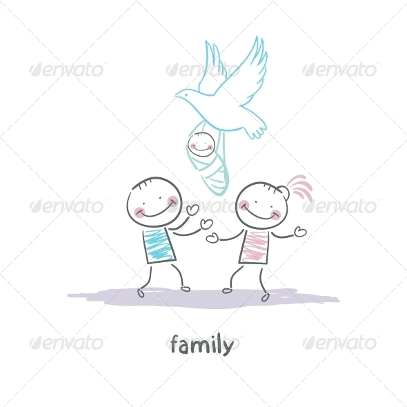GraphicRiver Family 5618769