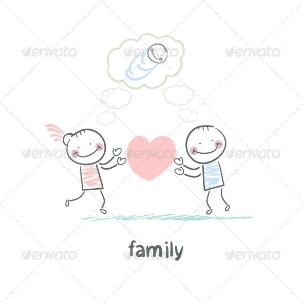 GraphicRiver Family 5618786