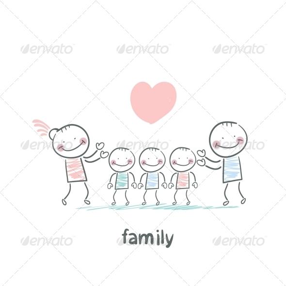 GraphicRiver Family 5618787