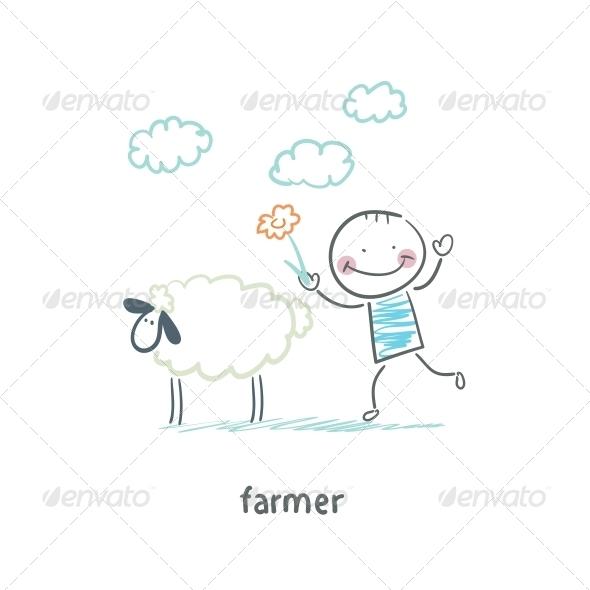 GraphicRiver Farmer 5618792