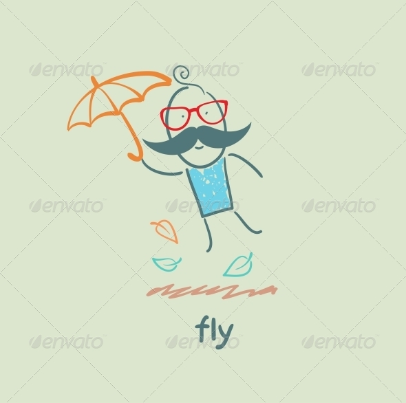 GraphicRiver Fly 5618863