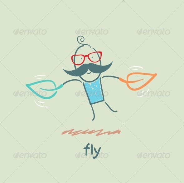 GraphicRiver Fly 5618865
