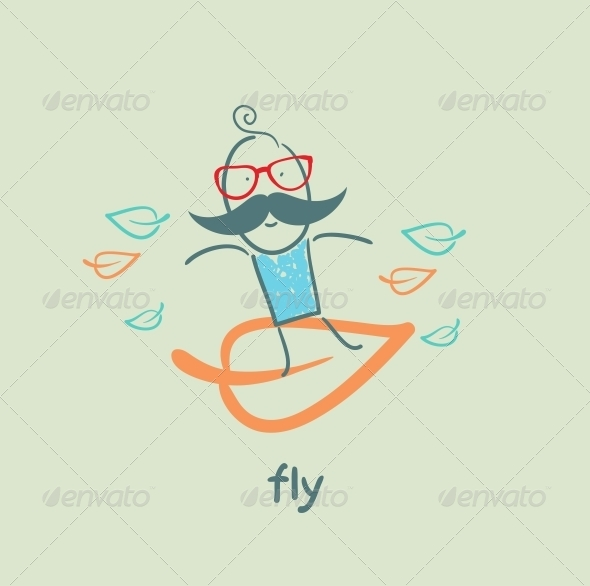 GraphicRiver Fly 5618867