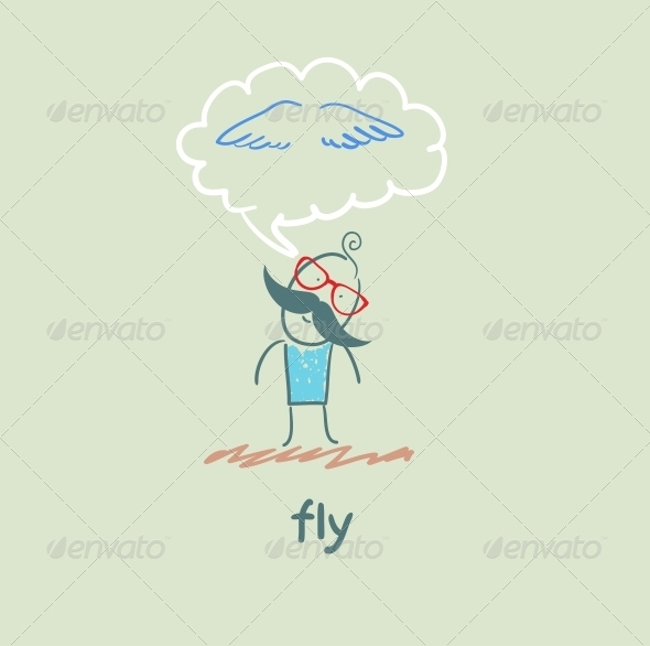 GraphicRiver Fly 5618873