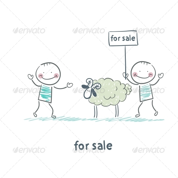GraphicRiver Selling Sheep 5618883