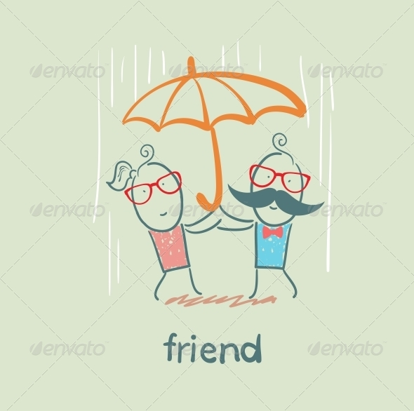 GraphicRiver Friend 5618940