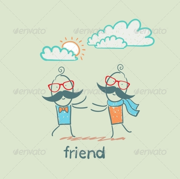 GraphicRiver Friend 5618964