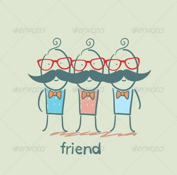 GraphicRiver Friends 5618965