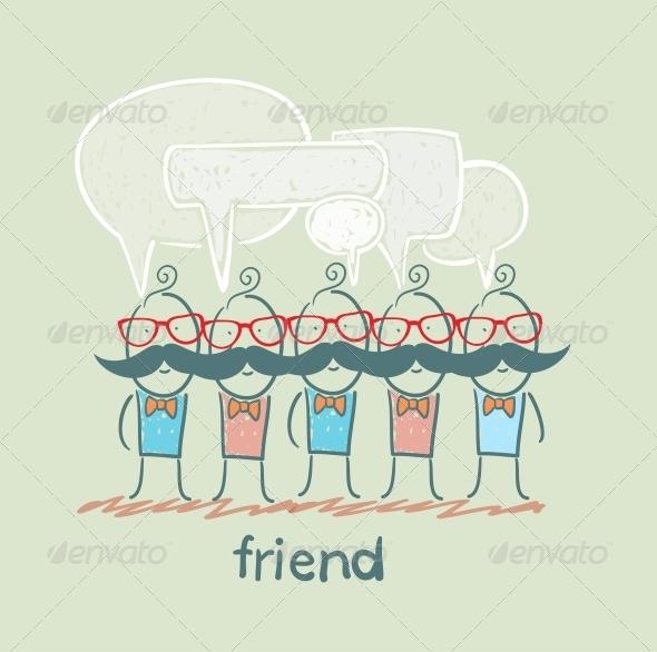 GraphicRiver Friends 5618970