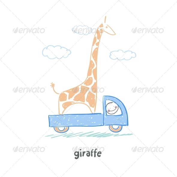GraphicRiver Giraffe 5619007