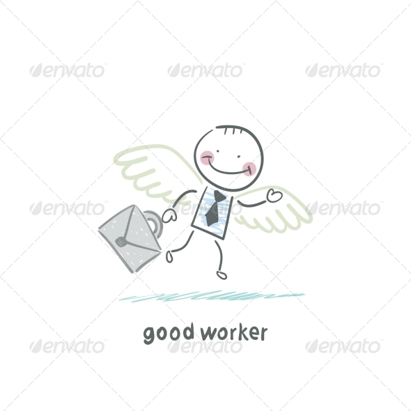 GraphicRiver Good Worker 5619047