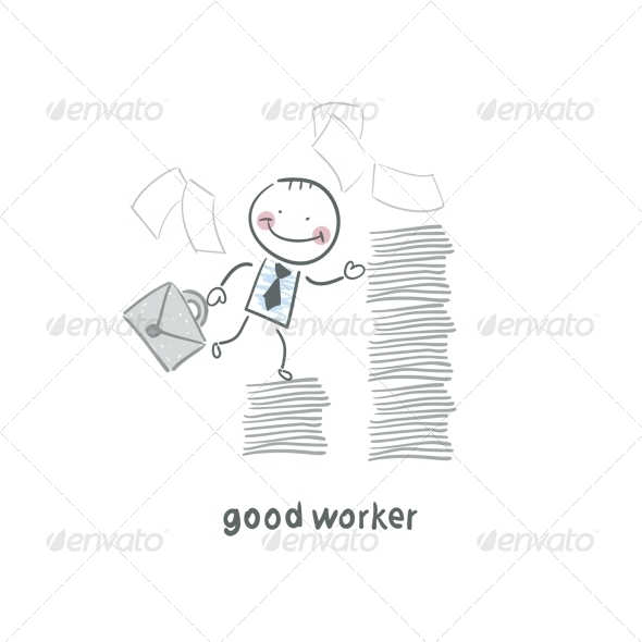 GraphicRiver Good Worker 5619048