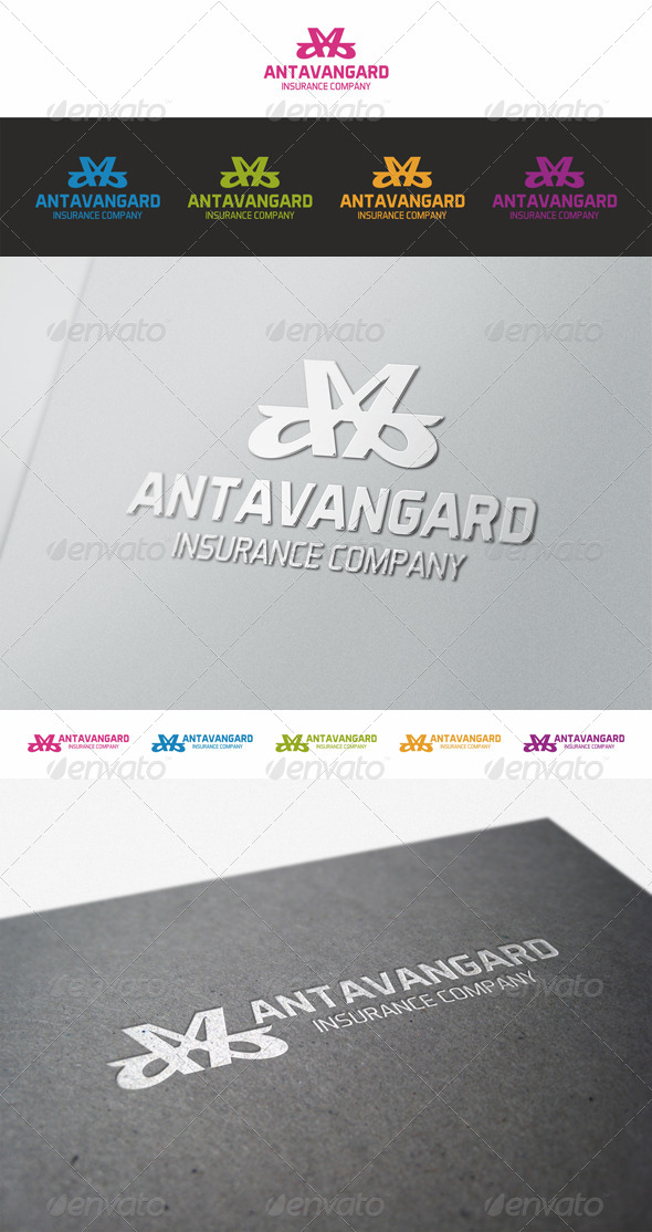 Antavangard Abstract Logo - Abstract Logo Templates